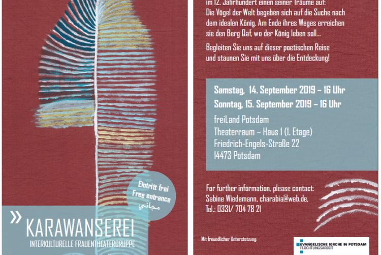 © Die Konferenz der Vögel - Karawanserei 2019    I    www.karawanserei-theater.eu