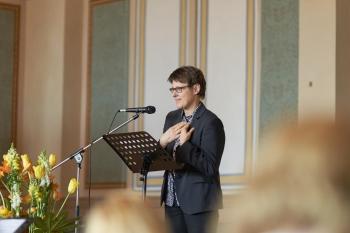 Grußworte von Marion Lenz, Zonta Club Braunschweig, Area-Director, Area 07